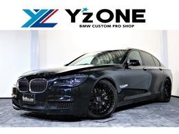 BMW 7シリーズ 740i Mスポーツパッケージ Y'zRacing21インチ