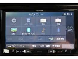 8V型ワイドVGAメモリーナビゲーション、バックカメラ、フルセグ地上デジタルTV、DVD再生、CD再生、SD再生、Bluetooth接続、USB接続、ミュージックサーバー、ETC車載器、マット付です!