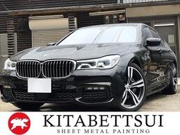 BMW 7シリーズ 740i Mスポーツ 純正ナビ ETC 全周囲カメラ 新車保証継承