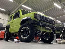 スズキ ジムニー 660 XL スズキ セーフティ サポート 装着車 4WD フルカスタム