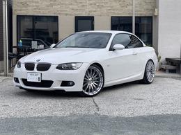 BMW 3シリーズカブリオレ 335i Mスポーツパッケージ 黒革シートHIDシートヒーター