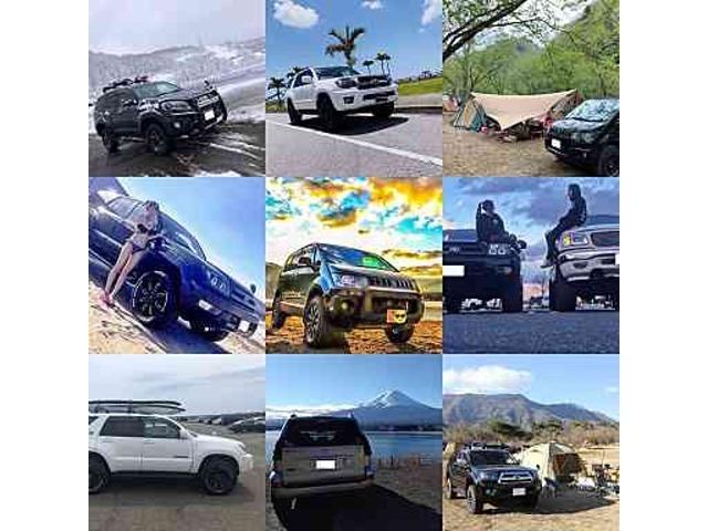 お届けしたお車にご満足頂けましたら、ぜひ愛車との写真を私達にも見せて下さい!キャンプや海、雪山等での思い出の一枚をお待ちしております(*^▽^*)