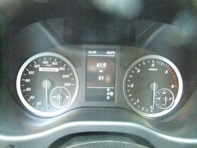 BRABUS スピードメーター220km