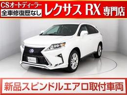 レクサス RXハイブリッド 450h 4WD 現行Fスポーツタイプ./新品黒本革/禁煙