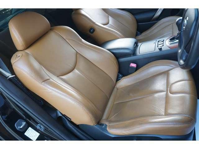 ★【フォーブ革シート&ヒーター】運転席シートのコンディションをご確認下さい!!★