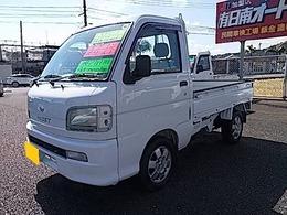 ダイハツ ハイゼットトラック 660 スペシャル 3方開 4WD エアコン・パワステ/5速マニュアル車