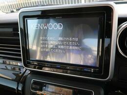 【新品KENWOOD8型ナビ】この時代必需品のナビゲーションもちろん付いてます♪フルセグTV視聴にDVD再生・ブルートゥース接続での音楽再生も可能です