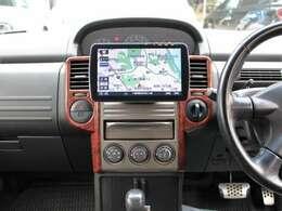 【ストラーダ9型ナビ】地デジ Bluetooth接続 DVD再生 CD SD録音 と充実の内容☆Bカメラも装備しており駐車もラクラクです★