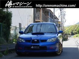 スバル インプレッサスポーツワゴン 2.0 WRX 4WD 5速MT ゲノム音 PIAA17in金 エアロ WR青