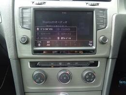 純正ナビゲーション(ディスカバープロ)は、8インチで様々なオーディオソースに対応いたします!CD・DVD・SD・Bluetooth