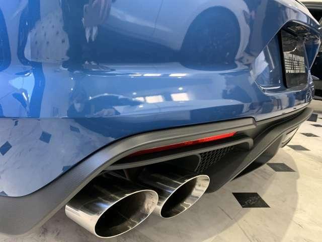 サイレント、ノーマル、スポーツ、トラックモードが自由に切り替えれれる、アクティブエグゾースト。日本車検対応バズファクトリーオリジナルプログラムにより、性能を100%発揮。