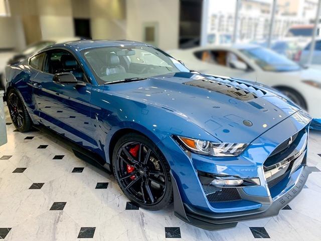 フォードが厳選したパフォーマンスモデルにしか与えられないフォードパフォーマンスブルー。