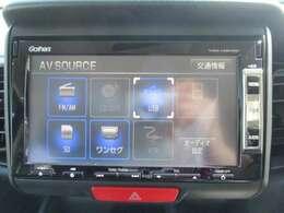純正メモリーナビ(VXM-128VSXi)です。DVD/CD再生のほかにもワンセグTVも装備されとっても便利です!