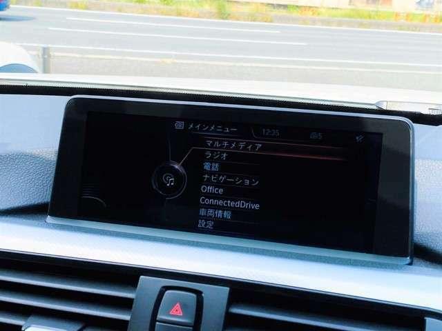 ★BMWのナビゲーションと言えば(i-Drive)!!操作方法は手元のダイヤルとボタンでの操作となり、国産ナビと比べると操作に慣れが必要となりますが、ご納車時に分かりやすくご説明致しますのでご安心ください!★