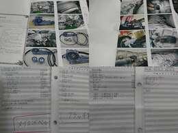 クラッチ&タイベル交換時の写真と記録簿がしっかりと残っていて確認するととても安心出来ます。現車のクラッチを踏んで頂きたいです。とにかく柔らかいです。