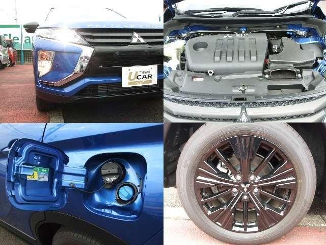 LEDヘッドライト&フォグランプ付。2.2Lクリーンディーゼル直噴ターボエンジン+8速スポーツモードA/Tを搭載。225/55R18タイヤ+純正ブラックEdition専用アルミホイールも装着。