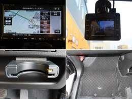 レンタUP車の特権!ナビ、ドライブレコーダー、ETC、フロアマットが装備!欲しい装備がすでに揃ってますよ♪