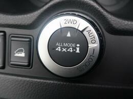「パートタイム4WD」運転者が自由に4WDと2WDの切り替えが可能となっております。気分や道路状況に応じて簡単に切り替えができるので便利ですよね。