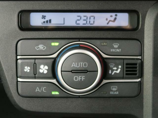 【フルオートエアコン】寒い冬も暑い夏でも全席に快適な空調を届けてくれます!