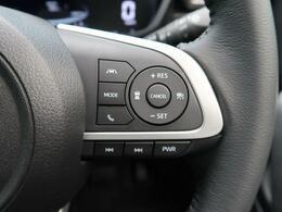 【レーダークルーズコントロール】高速道路で便利な自動で速度を保つクルーズコントロールが、衝突軽減システムと連携し、前方の車両を感知して車間を保つように速度調節してくれます!!【横滑防止装置】車両の横