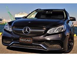 AMG Eクラスワゴン E63 S 4マチック 4WD 特注デジーノ法人禁煙屋根保管白革カーボン