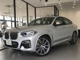 BMW X4 M40i 4WD ファストトラックP茶革ガラスSR21AW