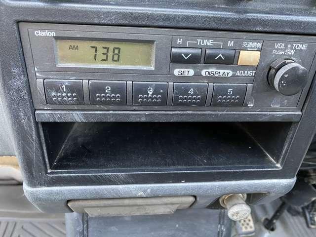 ラジオ付き