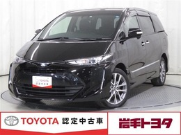 トヨタ エスティマ 2.4 アエラス プレミアム 4WD メモリーナビ バックカメラ LEDライト ETC