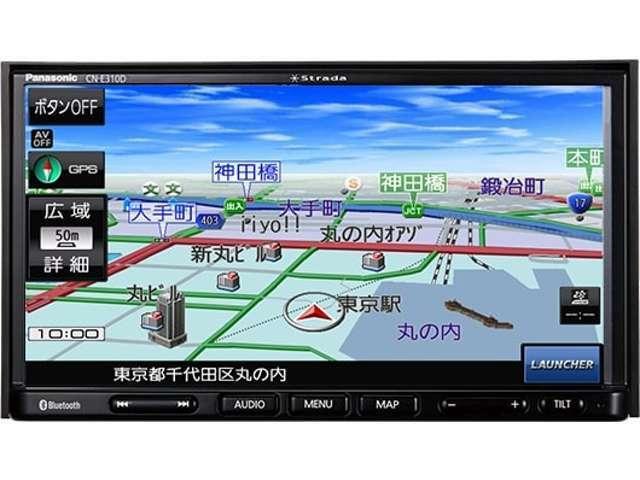 Panasonic ワンセグメモリーナビCN-E310D取付します。