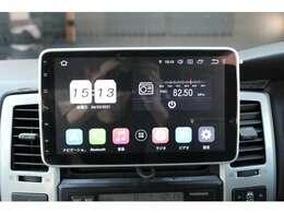 7インチワイドタッチアンドロイドオーディオ☆ スマホ連動可能☆ アプリダウンロード可能☆ Bluetoothオーディオ対応