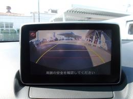 バック時も安心のバックカメラ搭載☆ガイドラインを表示して車両の動きを事前に確認できます☆