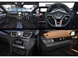 インテリアは、「ブラック」を選択。ブラックが基調にされた室内空間は大変精悍且つエレガントは雰囲気となっております。タバコ臭等も無く、快適なドライブをお楽しみ頂ける車両となっております。
