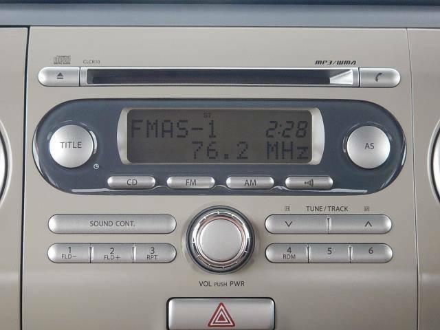 【インパネセンター上部・オーディオ部】純正CD付いてます♪※カーナビ・オーディオ等の取付もお任せ下さい♪詳しくはスタッフまで♪