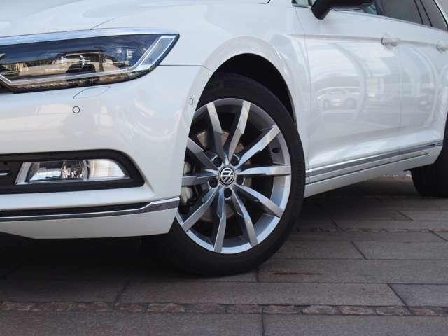 VW18インチ純正アルミホイール
