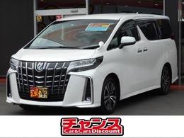 トヨタ アルファード 2.5 S Cパッケージ 10.5インチナビ フリップダウンモニター