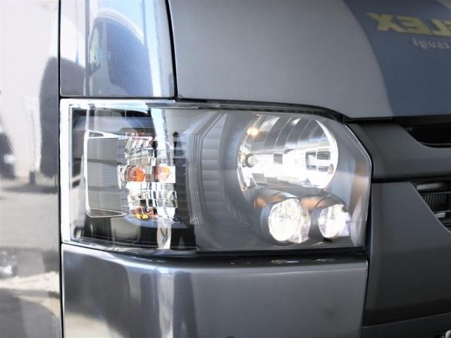 メーカーオプションLEDヘッドライト!ダークプライムIIの仕様でダークメッキ加飾済み!