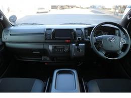 特別仕様ダークプライムIIならではの高級感のある運転席回り!