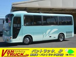 日野自動車 リエッセ スーパーツーリング バス 29人乗 自動ドア 冷蔵庫 棚 モケット AT