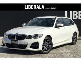 BMW 3シリーズツーリング 320d xドライブ Mスポーツ ディーゼルターボ 4WD コンフォ/ハイラインPKG ACC 黒革 純正18AW