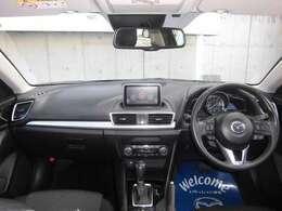 人間工学を駆使して設計された運転席は、操作性も良く、快適なドライブを可能にします。