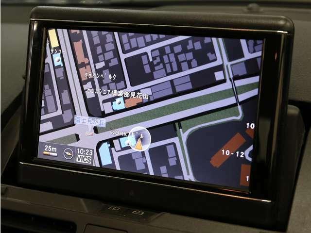 純正のマルチオーディオ、HDDナビゲーションを装備!音楽を取り込むミュージックレジスターやDVDビデオも再生可能です!