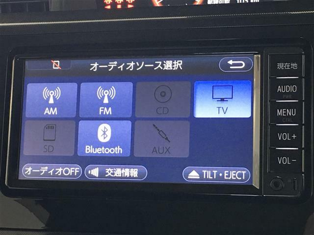 TV、Bluetoothなど、近年では必須の機能付きです!