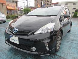 トヨタ プリウスα 1.8 S チューン ブラック フルセグHDDナビ バックモニター