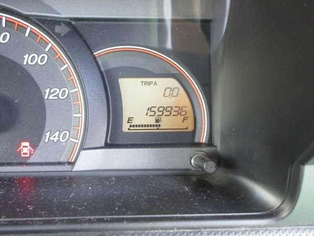 走行距離が16万キロ弱です。調子は良いようですので、まだお乗りいただけますよ!