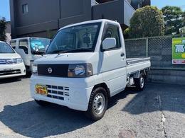 日産 クリッパートラック 660 DXエアコン付 4WD PS 4WD 三方開 5MT車