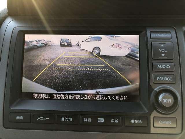 バックカメラ完備で駐車も楽々です