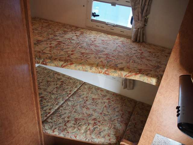 常設2段ベッド寸各183cm×65cmとなります☆