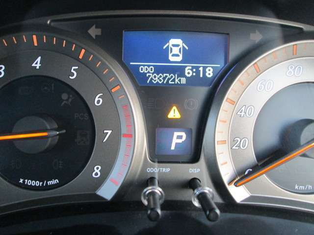 走行距離は、79,372kmですよ。