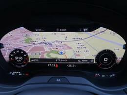 ●12.3インチバーチャルコックピット『今や最新の車種では主流になりつつあるデジタル液晶メーターの先駆け!』