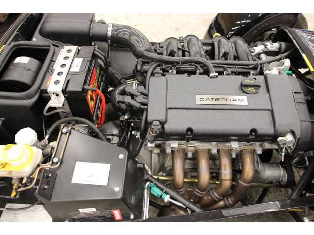 1.6Lフォード製シグマエンジン搭載。